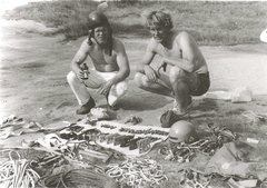 Rock Climbing Photo: Mike Peloquin and John Bragg below Canon preparing...