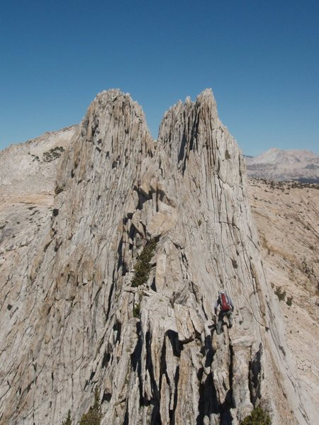 Rock Climbing Photo: mathes crest