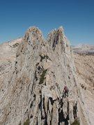 Rock Climbing Photo: mathes crest