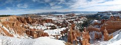 Rock Climbing Photo: Winter at Sunset Point in Bryce Canyon