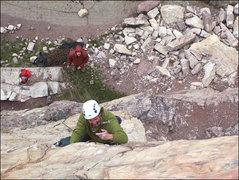Rock Climbing Photo: Edge of the Sea