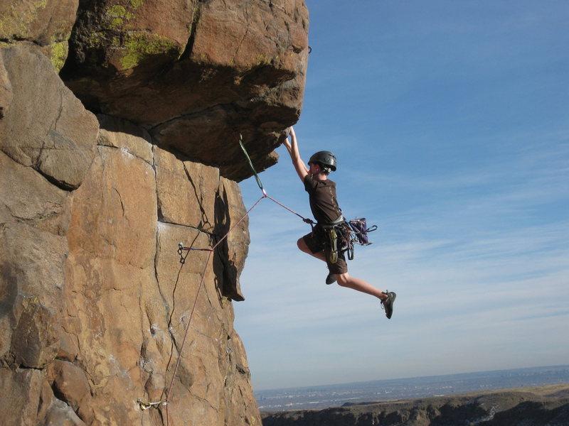 Rock Climbing Photo: YYYYEEEEHHHAAAA!!!!!