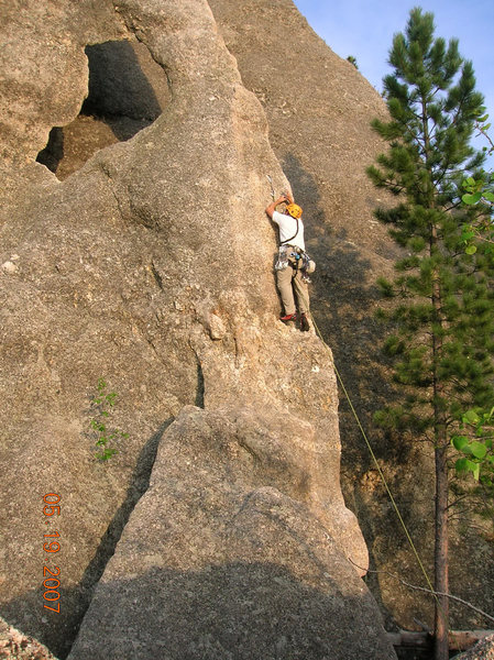 Rock Climbing Photo: Black hills 2007