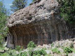 Rock Climbing Photo: The Booze Pig Wall.
