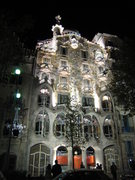 "Rock Climbing Photo: Gaudi's marvelous ""Casa Batllo""."