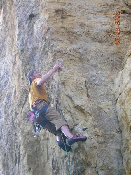 Rock Climbing Photo: Kely's arete