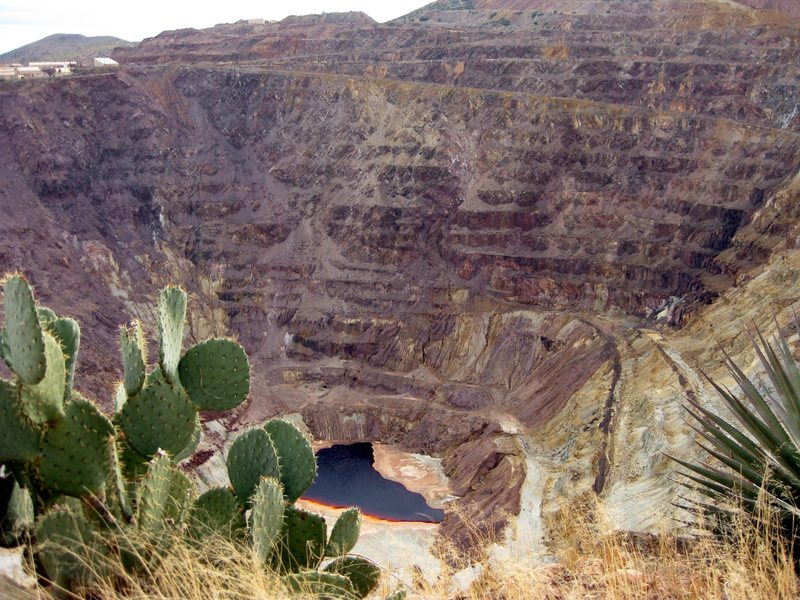 Just a little bit of mining took place in Bisbee, AZ back in the day. It's beautiful in it's own way.<br> <br> 12/13/09