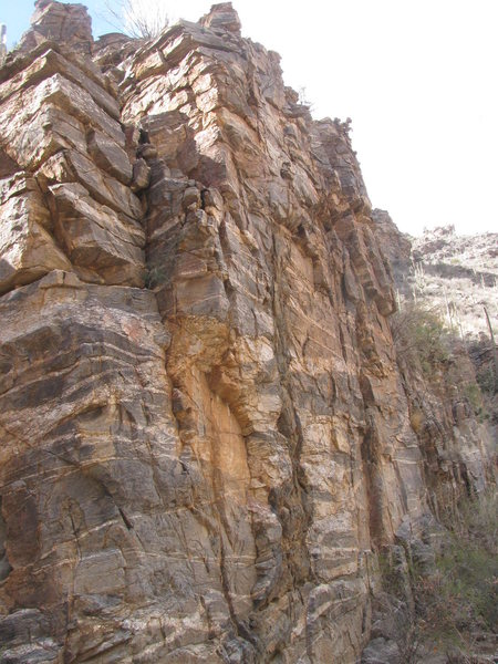 Rock Climbing Photo: Ventana cliff, looking north