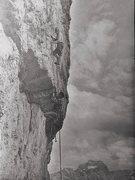 Rock Climbing Photo: Historic photo 1960. Paul Ross and Ralph Blain on ...