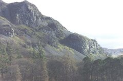 Rock Climbing Photo: Upper and Lower Falcon Crag