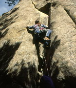 Rock Climbing Photo: Tim Hudgel - The Peapod.  Photo: Marc Hirt Collect...