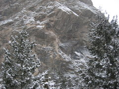 Rock Climbing Photo: proj 12/23/09