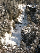 Rock Climbing Photo: Roaring Brook Falls from the overlook on highway 7...