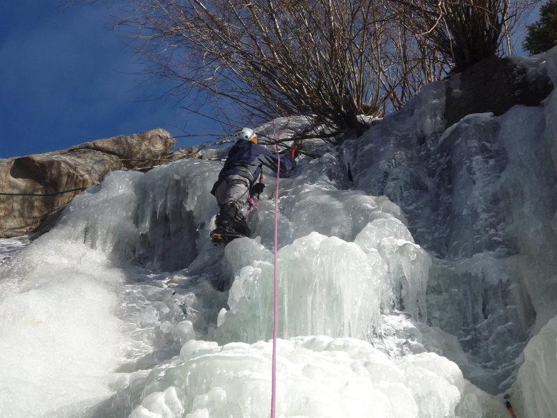Rock Climbing Photo: At the top.