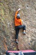 Rock Climbing Photo: Black Stuff start