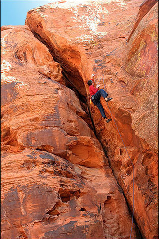 Rock Climbing Photo: Hair of the Dog