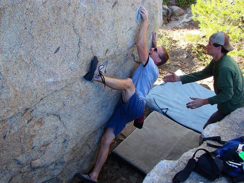 Rock Climbing Photo: Sharp!!!  Aug 06.