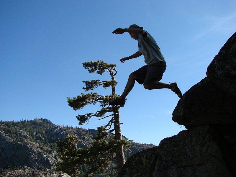 Rock Climbing Photo: Ben.  Aug 06.