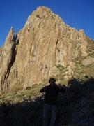 Rock Climbing Photo: luvin it