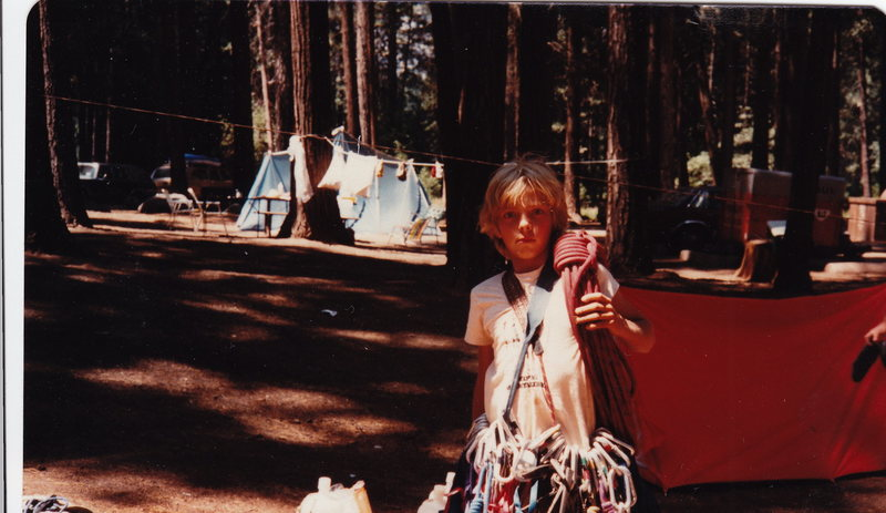 This is from my first Yosemite trip summer 1980...