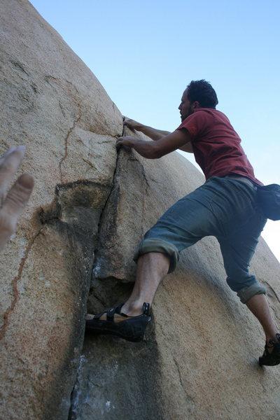 Rock Climbing Photo: Eric Odenthal.