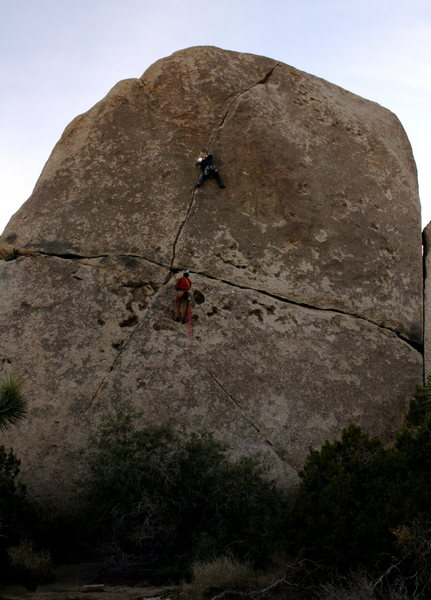 Rock Climbing Photo: The Rubicon,  Joshua Tree NP Ca