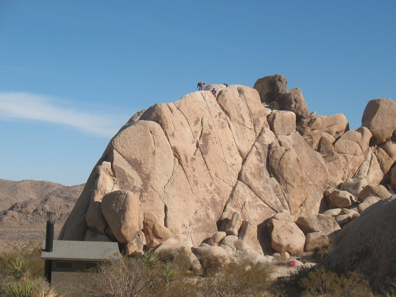 Hodgepodge Rock - West Face, Joshua Tree NP <br>