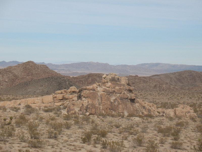 Morbid Mound, Joshua Tree NP <br>