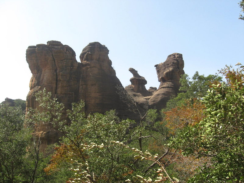 Rock Climbing Photo: Just one of the amazing formations at Siby