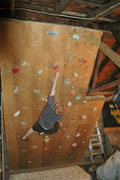 Rock Climbing Photo: Climbing Wall #1 (RIP 2006-2007): Free-standing wa...