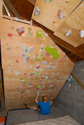 Rock Climbing Photo: Climbing Wall #3: (RIP: 2007-2008): Repurposed fro...