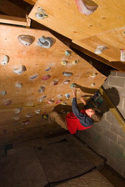 Rock Climbing Photo: Climbing Wall #3