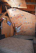 Rock Climbing Photo: Climbing Wall #3: fitted in one side of a 2 car ga...