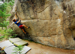 Rock Climbing Photo: Working on Drop Kick Murphy.