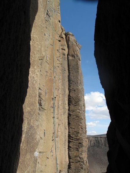 Rock Climbing Photo: View from Sunshine Wall