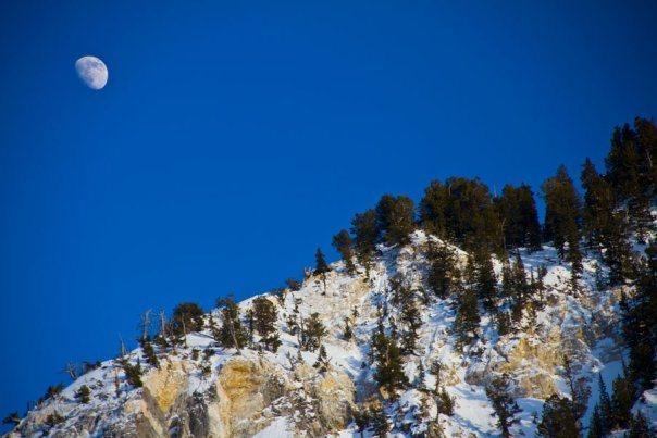 moonrise over Alta