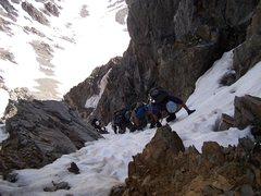 Rock Climbing Photo: Near the exit