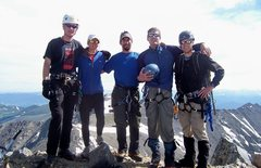 Rock Climbing Photo: Pacific Summit with the gang