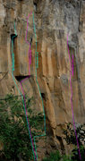 Rock Climbing Photo: No Feelings, Kindness, Parting Gift, and A Wonderf...