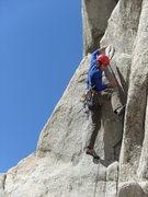 Rock Climbing Photo: Half A Finger