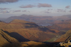 Rock Climbing Photo: Looking down Borrowdale from Great End. Photo Ron ...