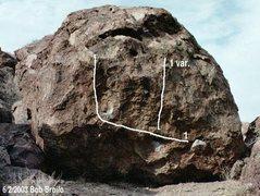 Rock Climbing Photo: Peck's Mystery problem