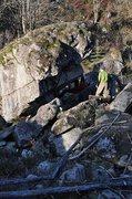 Rock Climbing Photo: Breadloaf