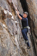"Rock Climbing Photo: Locker Smith on ""Indirect Action"". Photo..."