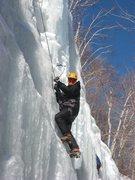 Rock Climbing Photo: Having fun on Pitchoff Right.