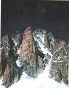 Rock Climbing Photo: The spectacular Grand Capucin. A perfect 1500' gra...