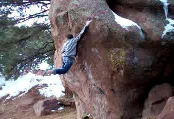 Rock Climbing Photo: The feet cut sometimes.