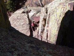 Rock Climbing Photo: Long John - Eldo
