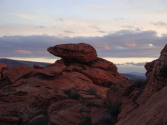 Rock Climbing Photo: A perch atop the Calico hills