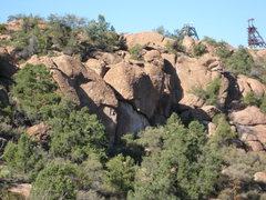Rock Climbing Photo: Yakov wall 11/09